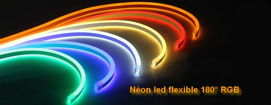 Néon led flex 180° RGB