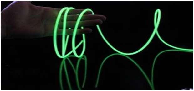 fil néon ou el wire principe de fonctionnement