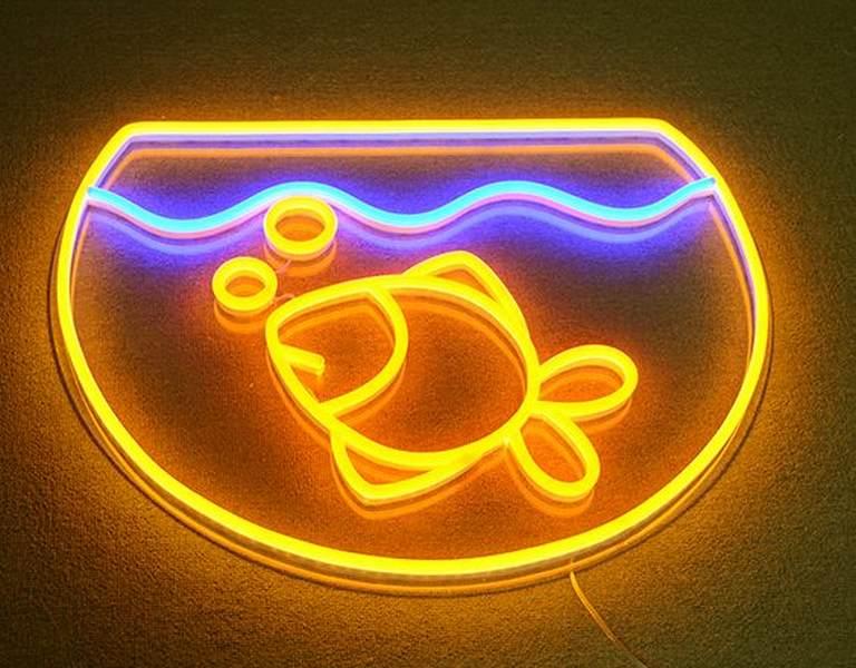 exemple enseigne neon flexible