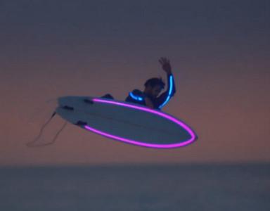 SPOT TV Banque populaire surf